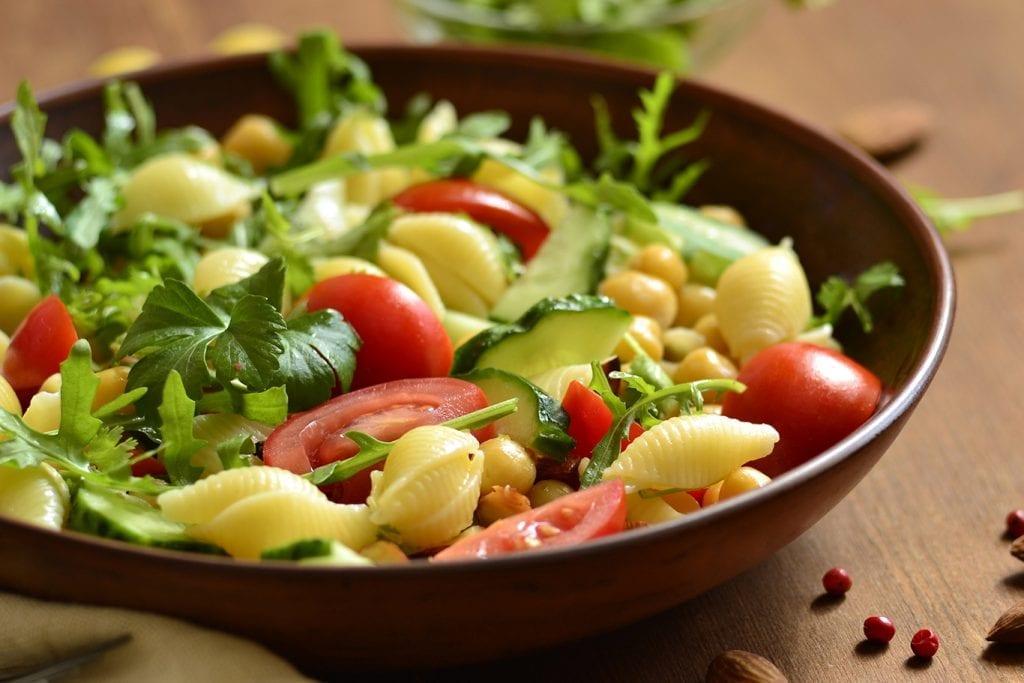 cilantro tomato pasta salad
