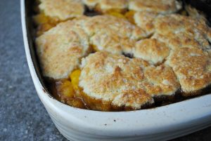 Cinnamon Peach Cobbler Recipe