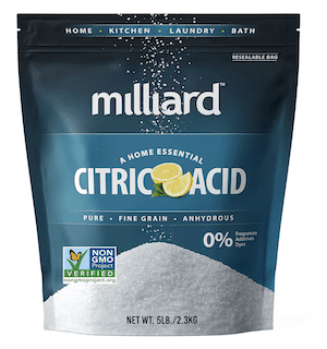 Milliard Citric Acid 5 Pound - 100% Pure Food Grade