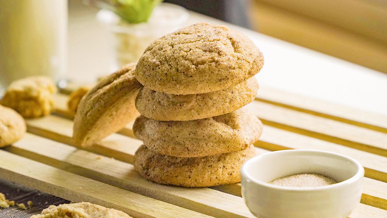 Classic Cinnamon Sugar Cookies Recipe (Mrs. Fields Copycat)