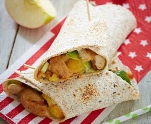 Classic Turkey Sandwich Wraps Recipe