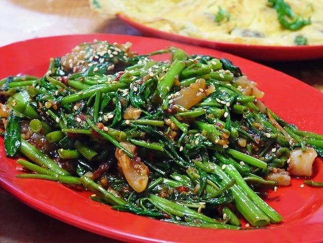Colorful Spinach and Prosciutto Recipe