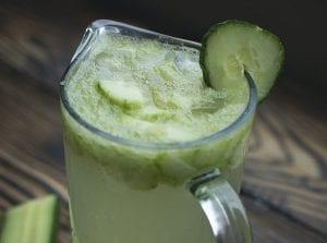 Strawberry Cucumber & Basil Infused Vodka - FoodBabbles.com