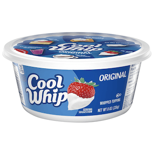 Cool Whip, Original Whipped Topping