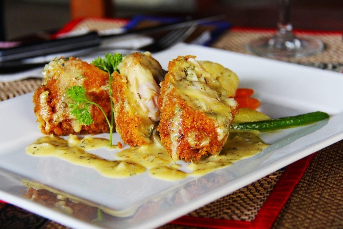 juicy stuffed chicken