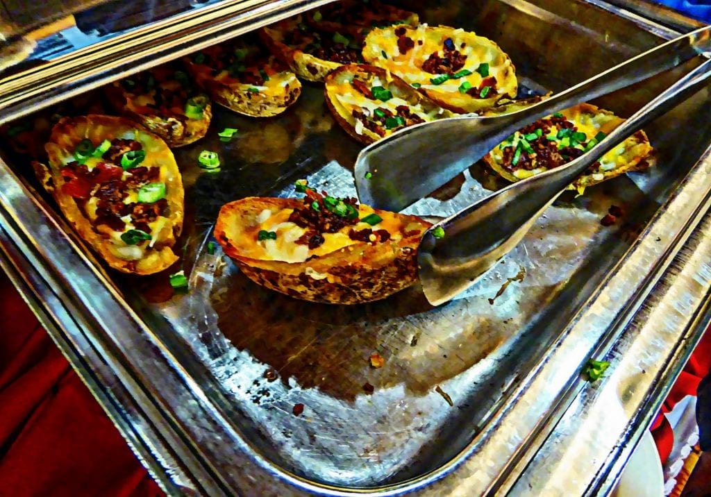 Copycat Chili's Loaded Potato Skins Recipe