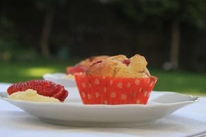 Copycat Dashing Dish's Strawberry Shortcake Muffins Recipe