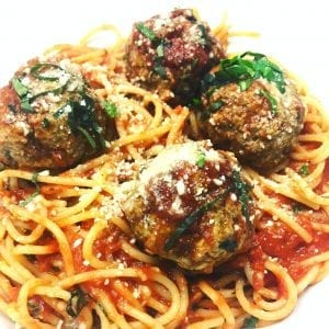 Copycat Golden Corral Spaghetti and Meatballs Recipe