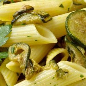 Copycat Olive Garden Pasta con Zucchini Recipe