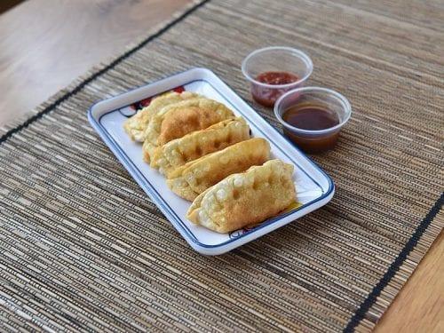 fresh fried dumplings