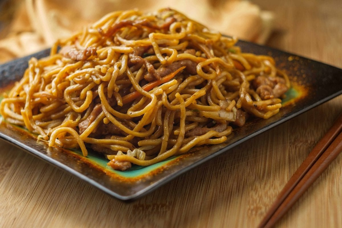 Copycat Pork Lo Mein Recipe