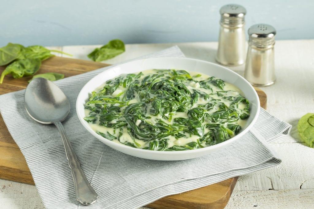 Copycat Ruth's Chris Creamed Spinach Recipe