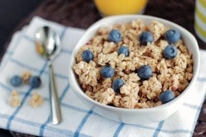 Copycat Starbucks Oatmeal With Fresh Blueberries Recipe