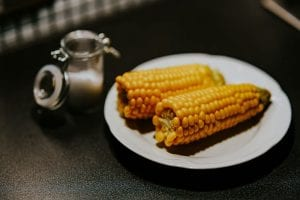 Corn on the Cob with Garlic-Chives Butter Recipe