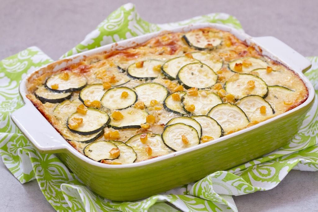 Corn-Zucchini Bake Recipe