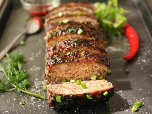 tender meatloaf that makes for a hearty meal