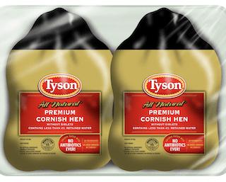 Tyson, Cornish Hens Twin Pack