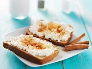 Cottage Cheese Cinnamon Toast Recipe