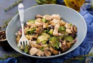 Crockpot Chicken and Zucchini Strips Recipe