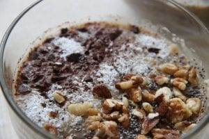 Crockpot Chocolate Peanut Butter Pudding Cake Recipe