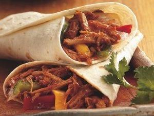 Crockpot Pulled-Pork Fajitas Recipe