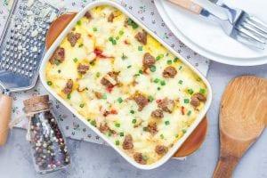 Crockpot Sausage & Egg Casserole Recipe