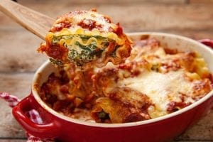 Crockpot Spinach Lasagna Recipe