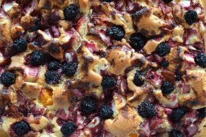 Crustless Blueberry Pie Dessert Recipe