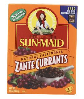 Sun Maid California Zante Currants