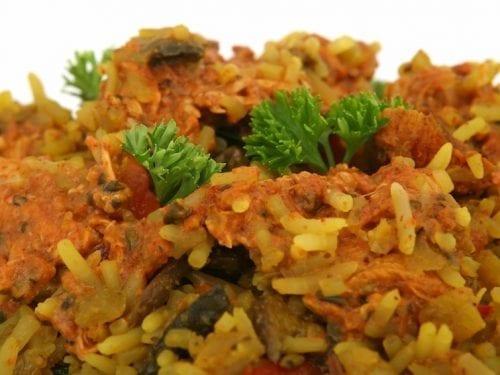 curried rice salad with melon raisins and peanuts rice salad recipe