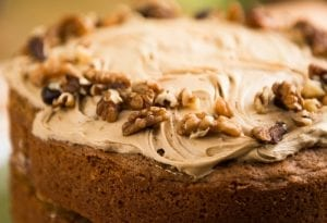 Date Cake with Peanut Butter Frosting Recipe