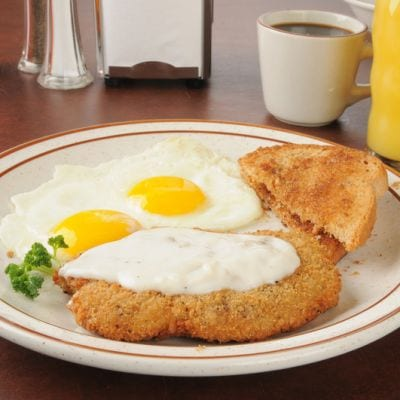 Country Fried Steak And Eggs Recipe