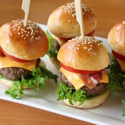 Mini Bacon Cheeseburger Sliders Recipe