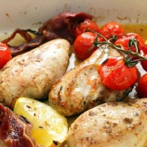 Peppered Lemon Chicken Recipe