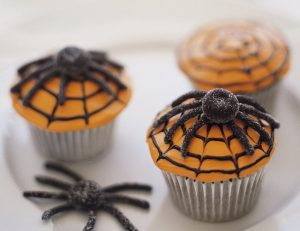 Devil's Food Spider Cupcakes Recipe