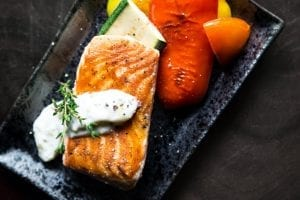 Dilled Salmon Skillet Dinner Recipe