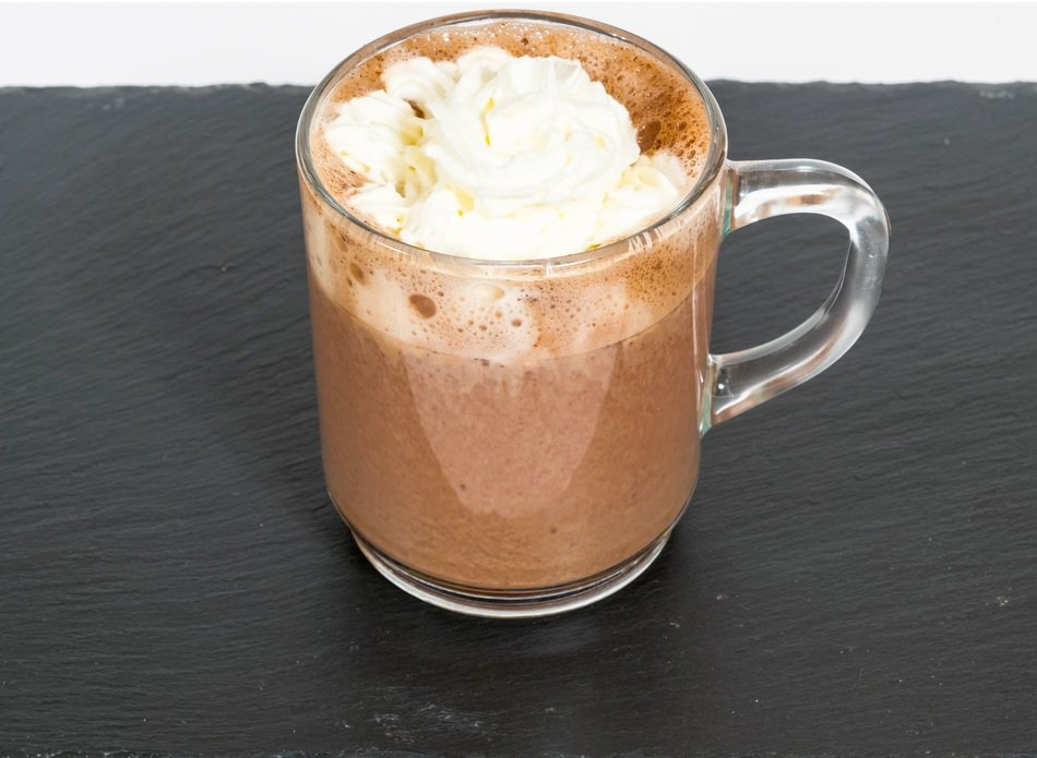 sweet double chocolate hot chocolate