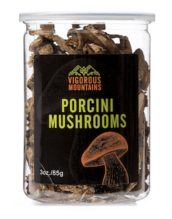 Vigorous Mountains Dried Porcini Mushrooms