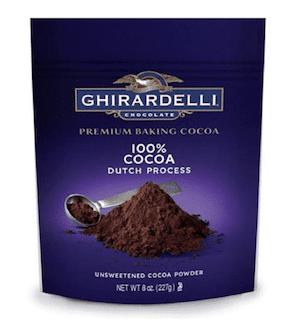 Ghirardelli Unsweetened Dutch Process Cocoa Pouch
