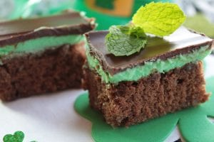 Easy Triple Chocolate Peppermint Brownies Recipe