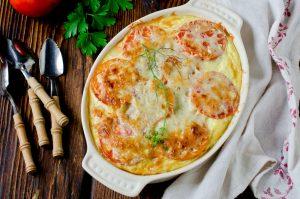 Egg and Tomato Casserole Recipe