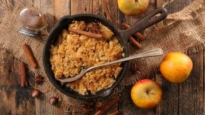Fat-Free Apple Crisp Recipe