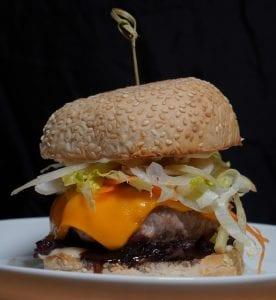 Fennel & Apple Slaw Pork Burger Recipe