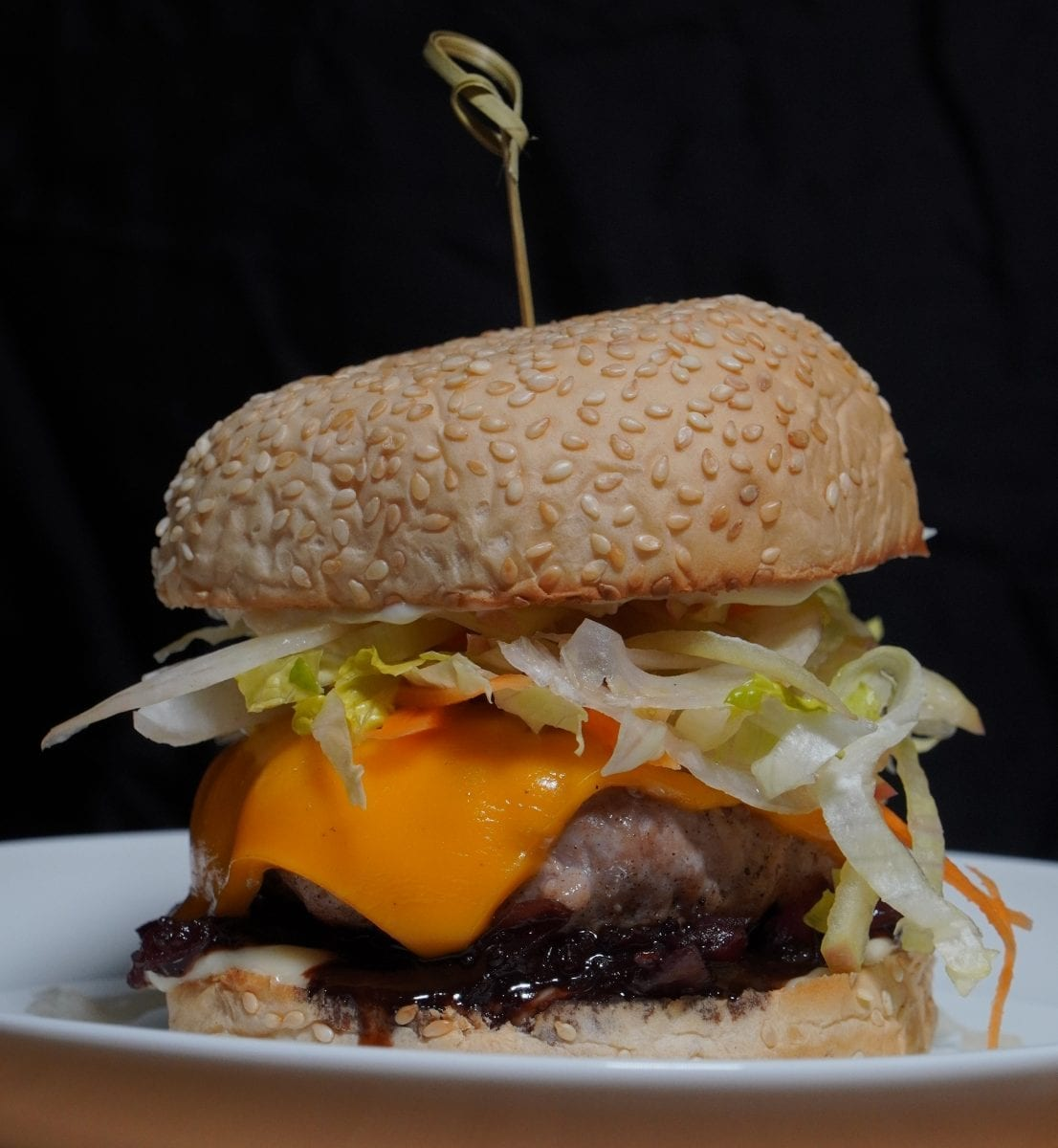fennel and apple slaw pork burger recipe