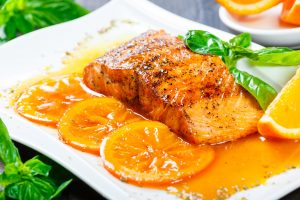 Fish Fillets L'Orange Recipe