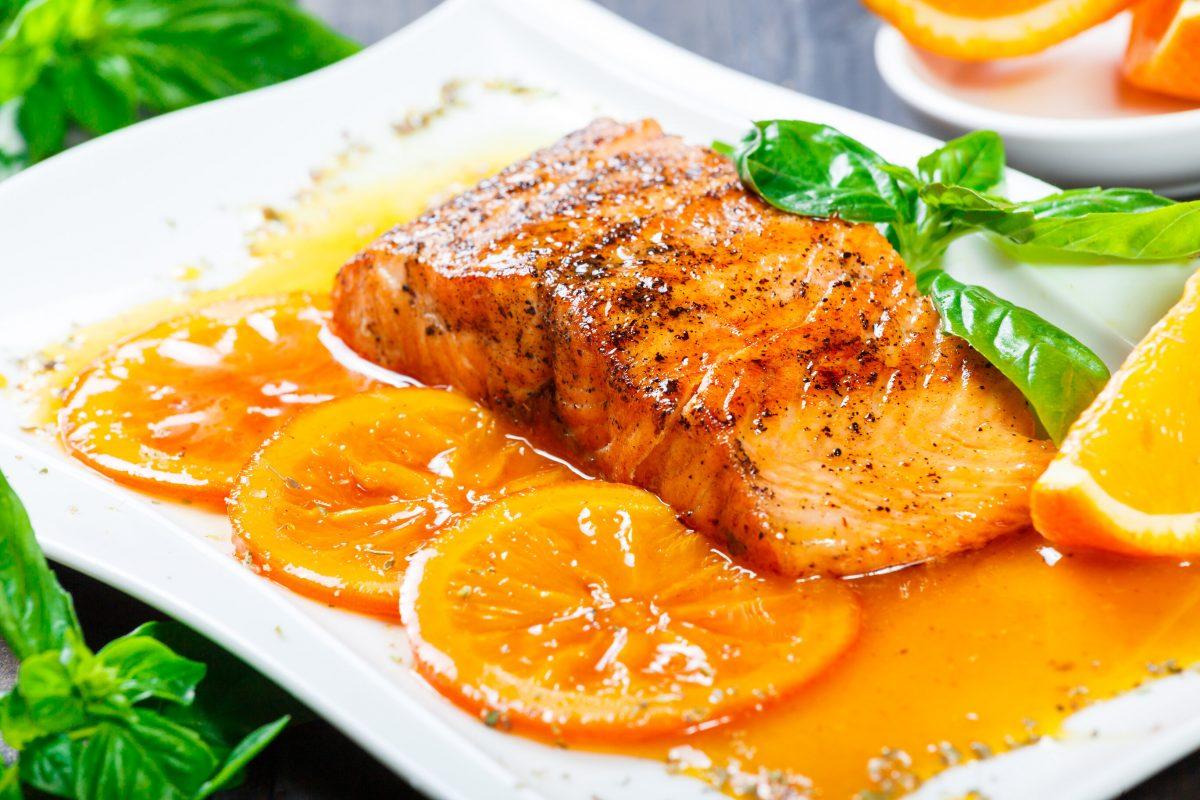 fish fillet orange