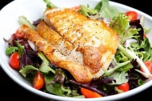 Fish Salad with Horseradish Sauce Recipe