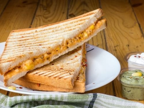 four cheese grilled cheese