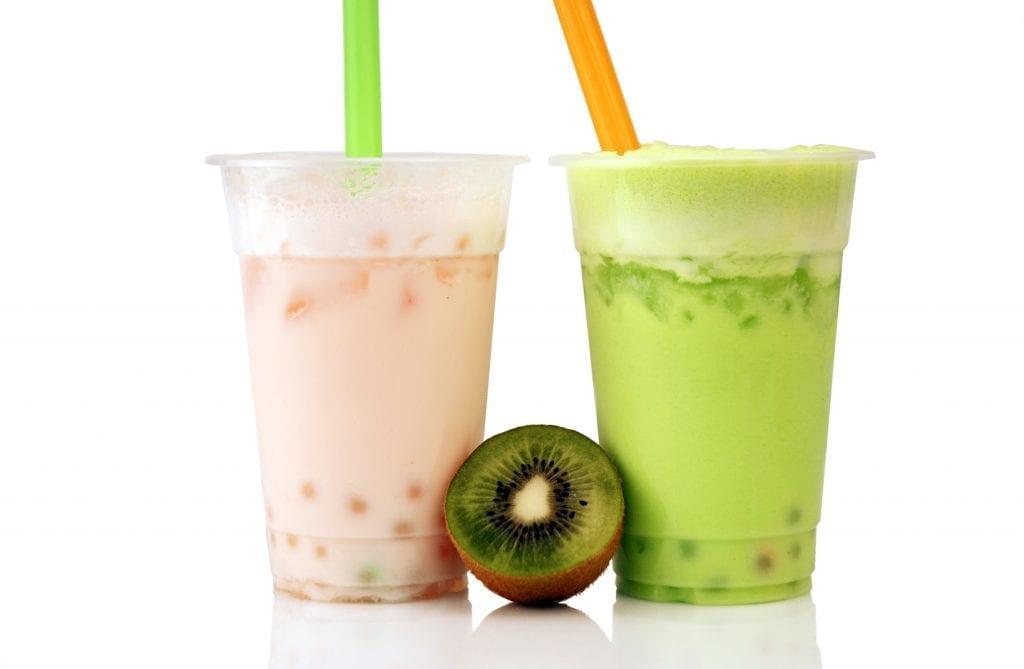 Fresh Kiwifruit Bubble Tea Recipe