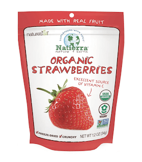 Natierra Nature's Organic Freeze-Dried Strawberries